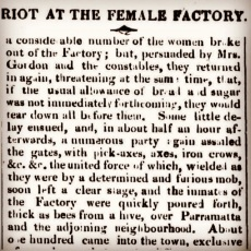 Riot at the Female Factory