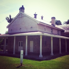 Governor Brisbane's third-class sleeping-quarters, c.1824. Catherine Smith would have slumbered here during her multiple stints in the prison-class of the Factory. Photo: Michaela Ann Cameron (2014)