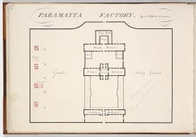 Parramatta Female Factory, S. L. Harris, Colonial Architect. Old Parramatta. Female Factory Online.