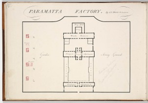 Parramatta Female Factory, S. L. Harris, Colonial Architect. Old Parramatta. Female Factory Online.