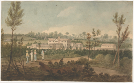 Augustus Earle, Female penitentiary or factory, Parramata [i.e. Parramatta], N.S. Wales [picture] / [Augustus Earle]. Courtesy of National Library of Australia, nla.obj-134500491.