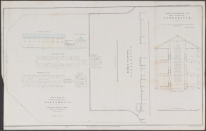Alexander Maconochie (1787-1860), Range of solitary cells erected at the Female Factory at Parramatta : accompanying plans and estimates of buildings proposed by Captn. Maconochie, R.N. / [drafted with corrections by] H.H. Lugard, Lt. R.E. ; [originally designed by Francis Greenway], ([London]: James & Luke J., Hansard Printers; Ordered by the House of Commons to be printed 15 June, 1841). Courtesy of National Library of Australia, MAP RM 4336, nla.obj-232459237.