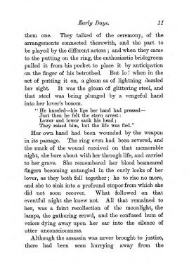 """Chapter I: Early Days,"" James Cameron's biography on Parramatta Female Factory convict Adelaide de la Thoreza, p. 11"