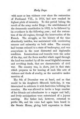 """Chapter I: Early Days,"" James Cameron's biography on Parramatta Female Factory convict Adelaide de la Thoreza, p. 13"