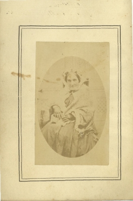 Portrait of Parramatta Female Factory inmate Adelaide de la Thoreza, frontispiece.