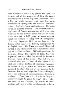 """Chapter II: Life in London,"" James Cameron's biography on Parramatta Female Factory convict Adelaide de la Thoreza, p. 18"