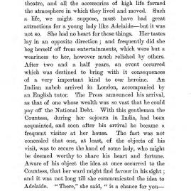"""Chapter II: Life in London,"" James Cameron's biography on Parramatta Female Factory convict Adelaide de la Thoreza, p. 18"