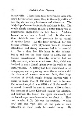 """Chapter II: Life in London,"" James Cameron's biography on Parramatta Female Factory convict Adelaide de la Thoreza, p. 22"