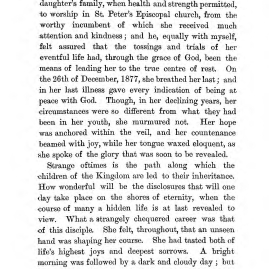 """Chapter III: Life in the Colony,"" James Cameron's biography on Parramatta Female Factory convict Adelaide de la Thoreza, p. 34"