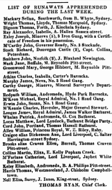 Mary Ann Greenwood Apprehended, 1835, Parramatta Female Factory, Female Factory Online, newspaper