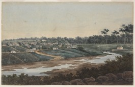 Factory Above the Gaol, First Parramatta Female Factory, Parramatta, 1809, early nineteenth century, New South Wales, Female Factory Online, Prince Alfred Square