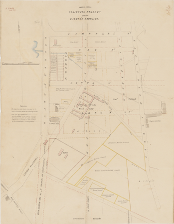 Carters' Barracks, Pitt St, Sydney, New South Wales, Central Station site, Boys' Barracks, Debtors' Prison, Thomas Bell, Matron Sarah Bell, St. John's Cemetery Project, Female Factory, Old Parramattans
