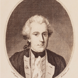 "Portrait of Philip Gidley King, Third Governor of New South Wales. ""Lieut. King,"" J. Wright del., W. Skelton sculp., Publd 1789 by J. Stockdale, Piccadilly, in Sydney, Newcastle and Wollongong Views with Portraits and Manuscript Extracts, (1770–1886), DL PXX 71 / FL13383215, Dixson Library, State Library of New South Wales."